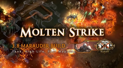 [Mauarder] PoE 3.8 Molten Strike Juggernaut Starter Build (PC, PS4, Xbox)